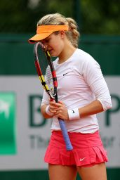 Eugenie Bouchard – 2014 French Open at Roland Garros – Round Two