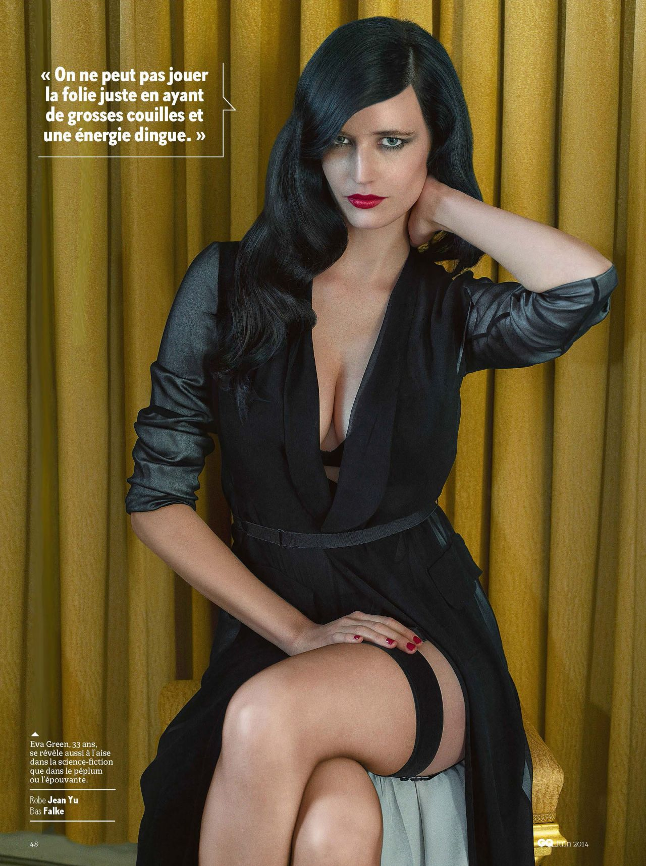 Eva Green - GQ MAgazine (France) - June 2014 Issue