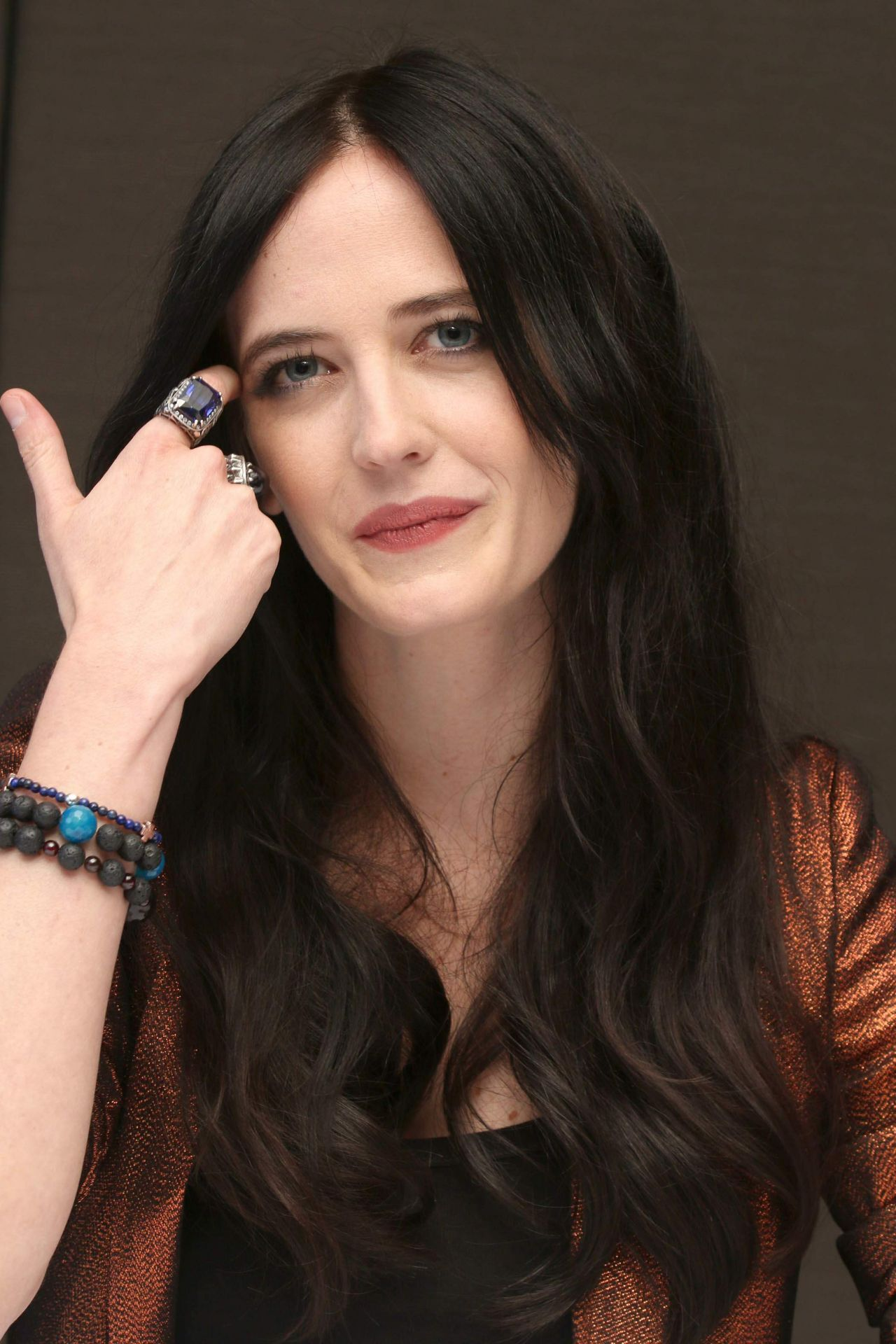 Eva Green Press Conference Portraits For Penny Dreadful