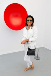Eva Longoria at 2014 Frieze Art Fair in New York City