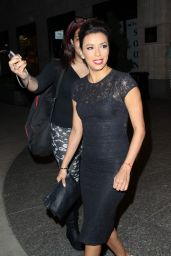 Eva Longoria Night Out Style - Left the Four Seasons in New York City - May 2014