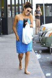 Eva Longoria Street Style  Out in Los Angeles - May 2014
