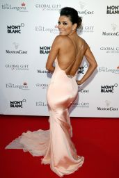 Eva Longoria Wearing Gabriela Cadena Gown - The Global Gift Gala at Cannes 2014