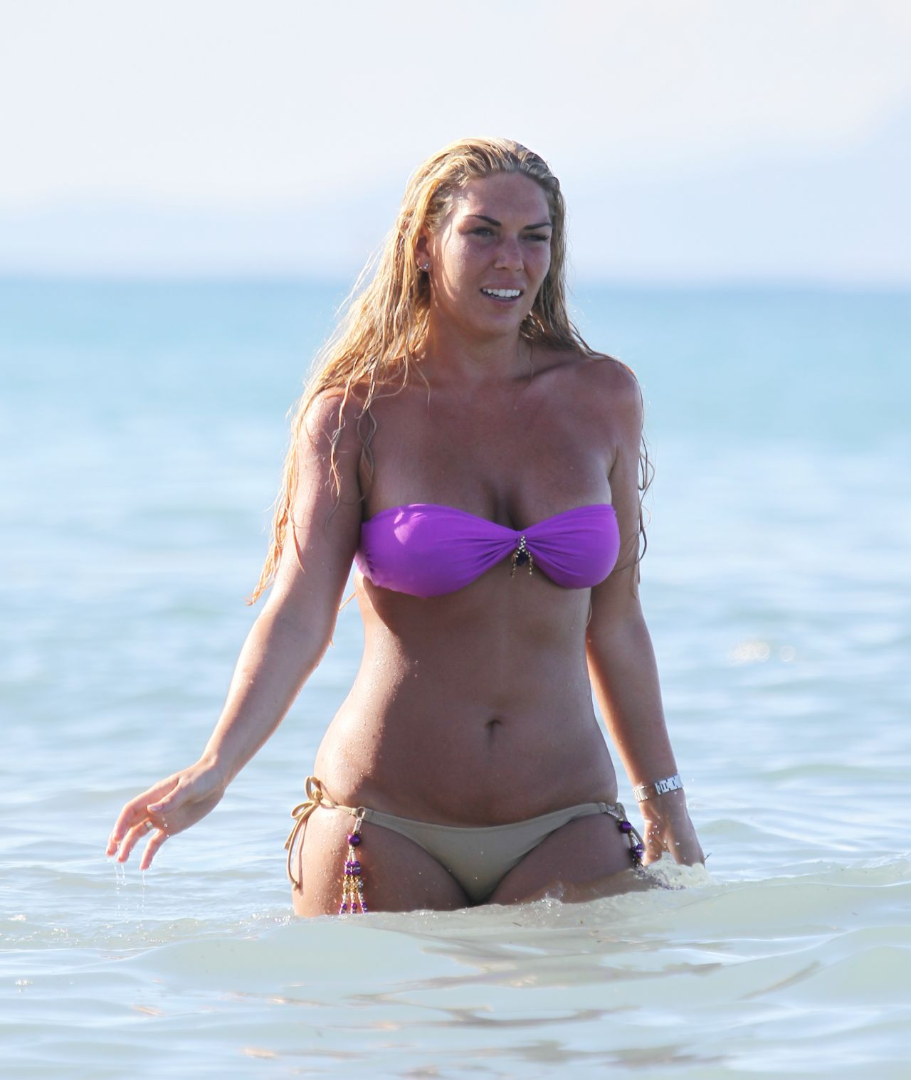Frankie Essex in a Bikini on Holiday in Greece - April 2014