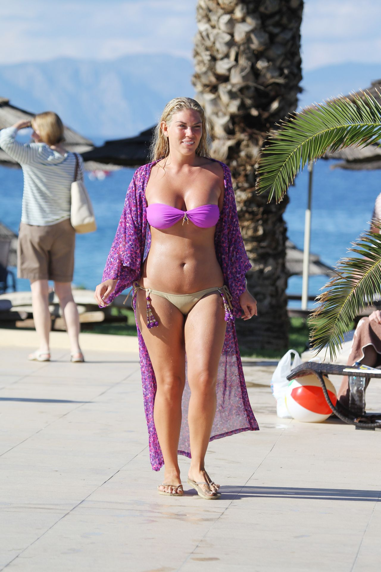 Frankie Essex In A Bikini On Holiday In Greece April 2014