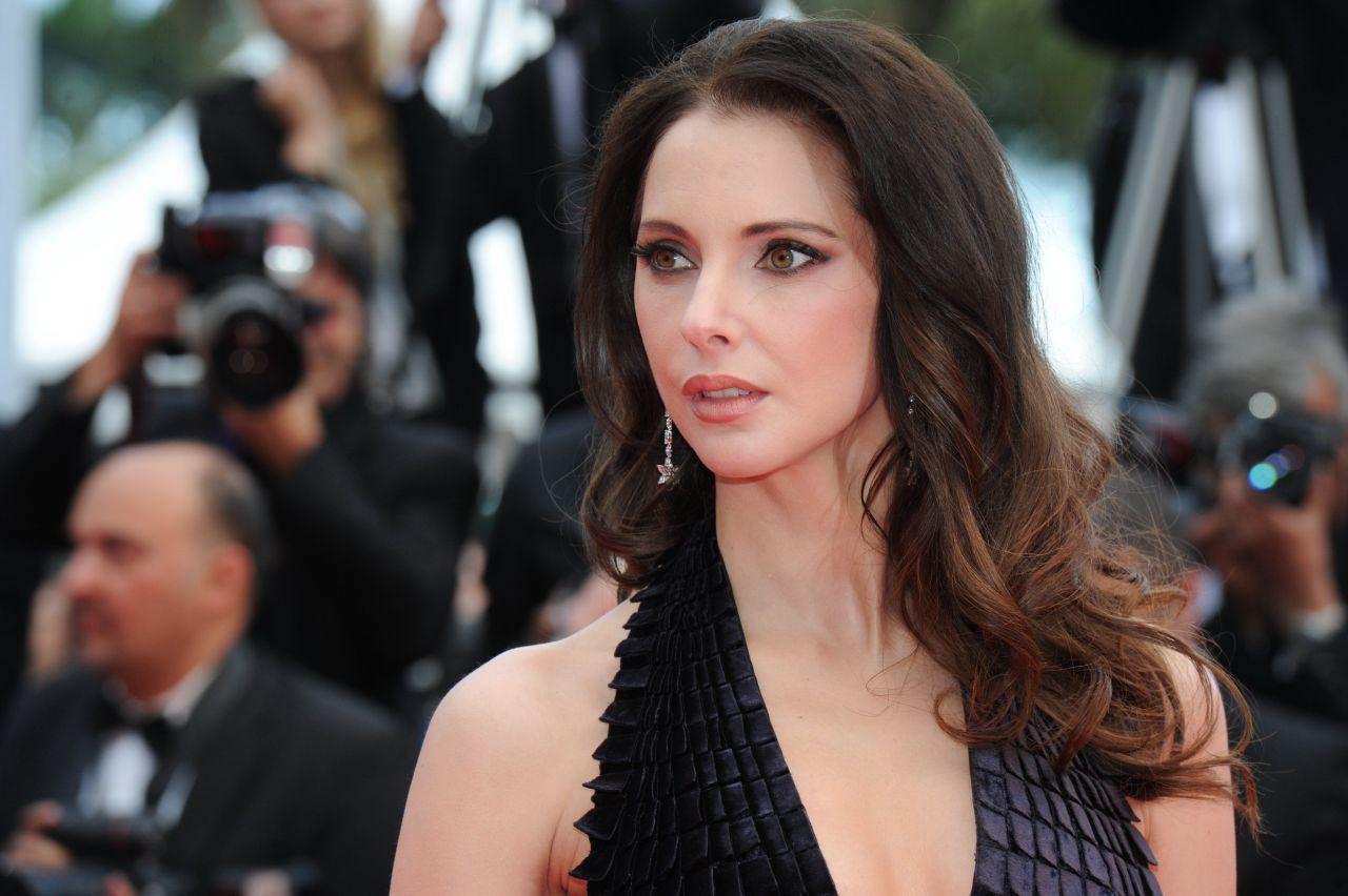 Frederique Bel Saint Laurent Premiere 2014 Cannes
