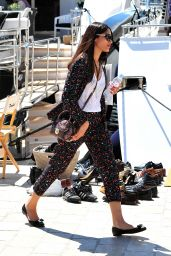 Frida Pinto - Exiting Yacht at Cannes VIP Port - 2014 Cannes Film Festival