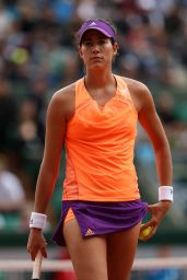 Garbine Muguruza – 2014 French Open at Roland Garros – 2nd Round