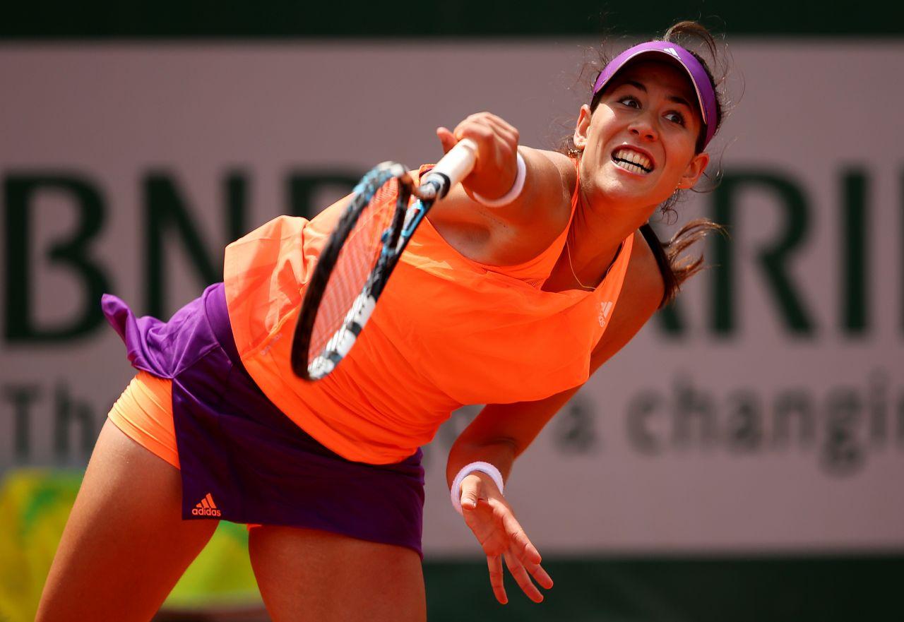 Garbine Muguruza - 2014 French Open at Roland Garros - 2nd Round