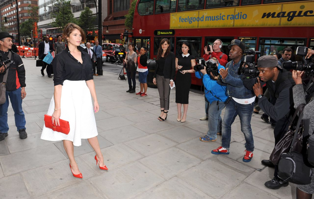 Gemma Arterton Attends the Pandora #MyRingsMyStyle Launch in London - May 2014