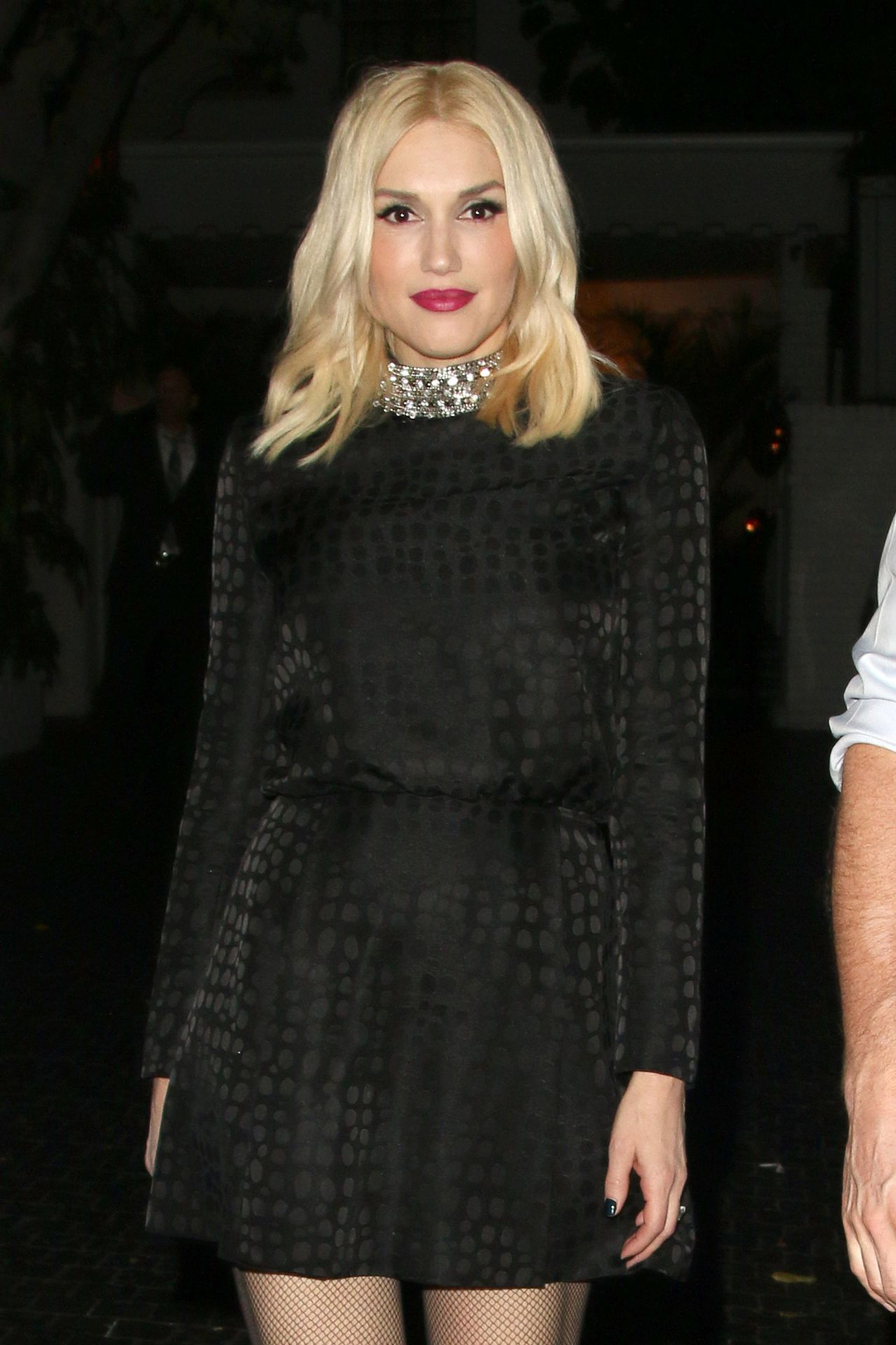 Gwen Stefani Night Out Style - Chateau Marmont in Los Angeles – May 2014