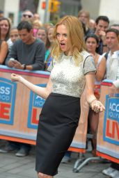 Heather Graham - Interview for Access Hollywood in New York City - May 2014