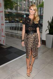 Heidi Klum Wearing Roberto Cavalli - Up2Us Gala - May 2014