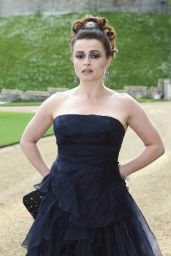Helena Bonham-Carter Wearing Ralph Lauren Gown – The Duke of Cambridge Celebrates The Royal Marsden in Windsor