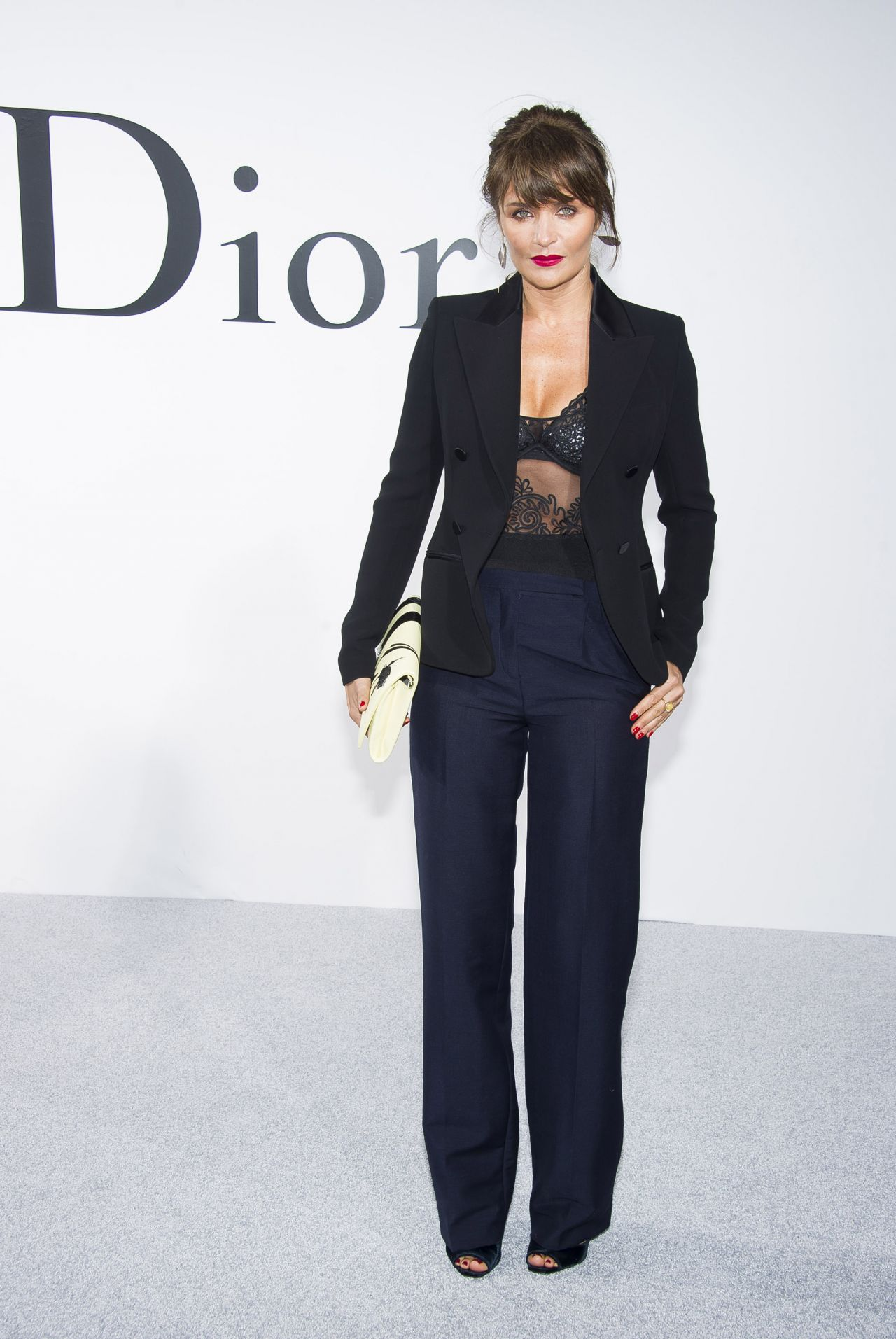 Helena Christensen - Dior Cruise 2015 Fashion Show - May 2014