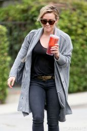 Hilary Duff - Out in LA - May 2014