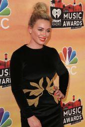 Hilary Duff Wearing Maria Lucia Hohan Dress - 2014 iHeartRadio Music Awards