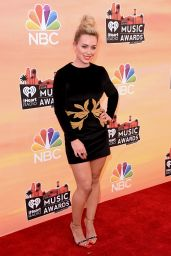 Hilary Duff Wearing Maria Lucia Hohan Dress - 2014 iHeartRadio Music Awards