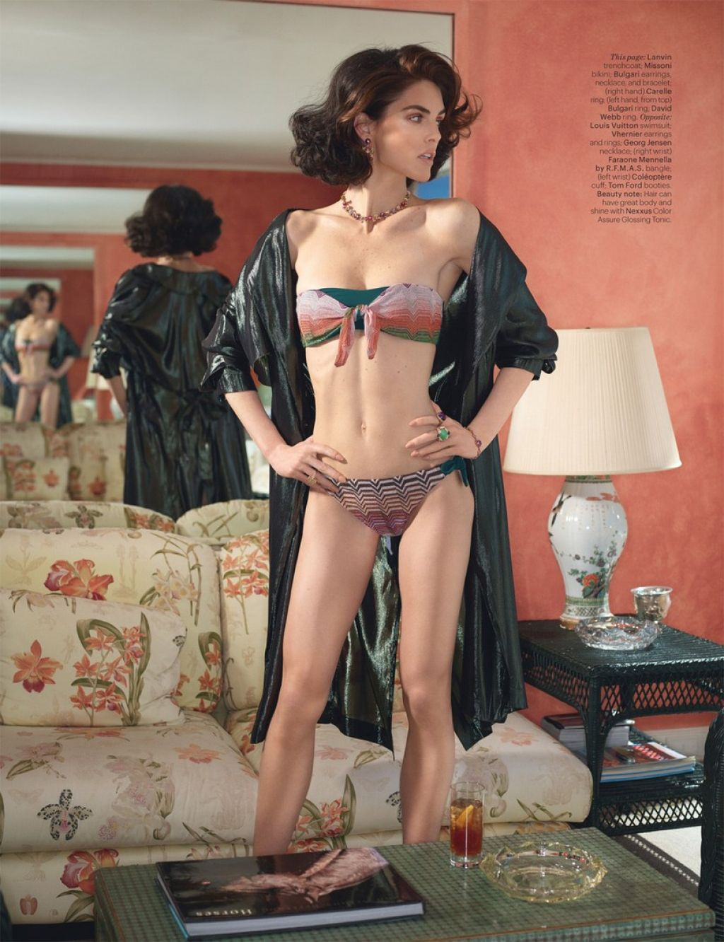 Hilary Rhoda - W Magazine Special Edition May 2014 Issue