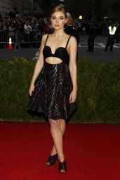 Imogen Poots Wearing Proenza Schouler Short Dress – 2014 Met Costume Institute Gala