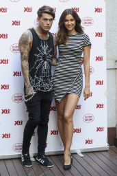 Irina Shayk in Mini Dress at Xti Promotional Event in Madrid - May 2014