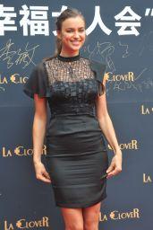 Irina Shayk - La Clover Lingerie Promotial Event in Beijing - May 2014