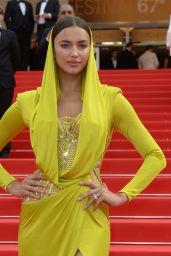 Irina Shayk Wearing Atelier Versace Dress -