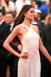Izabel Goulart in Roberto Cavalli Gown -