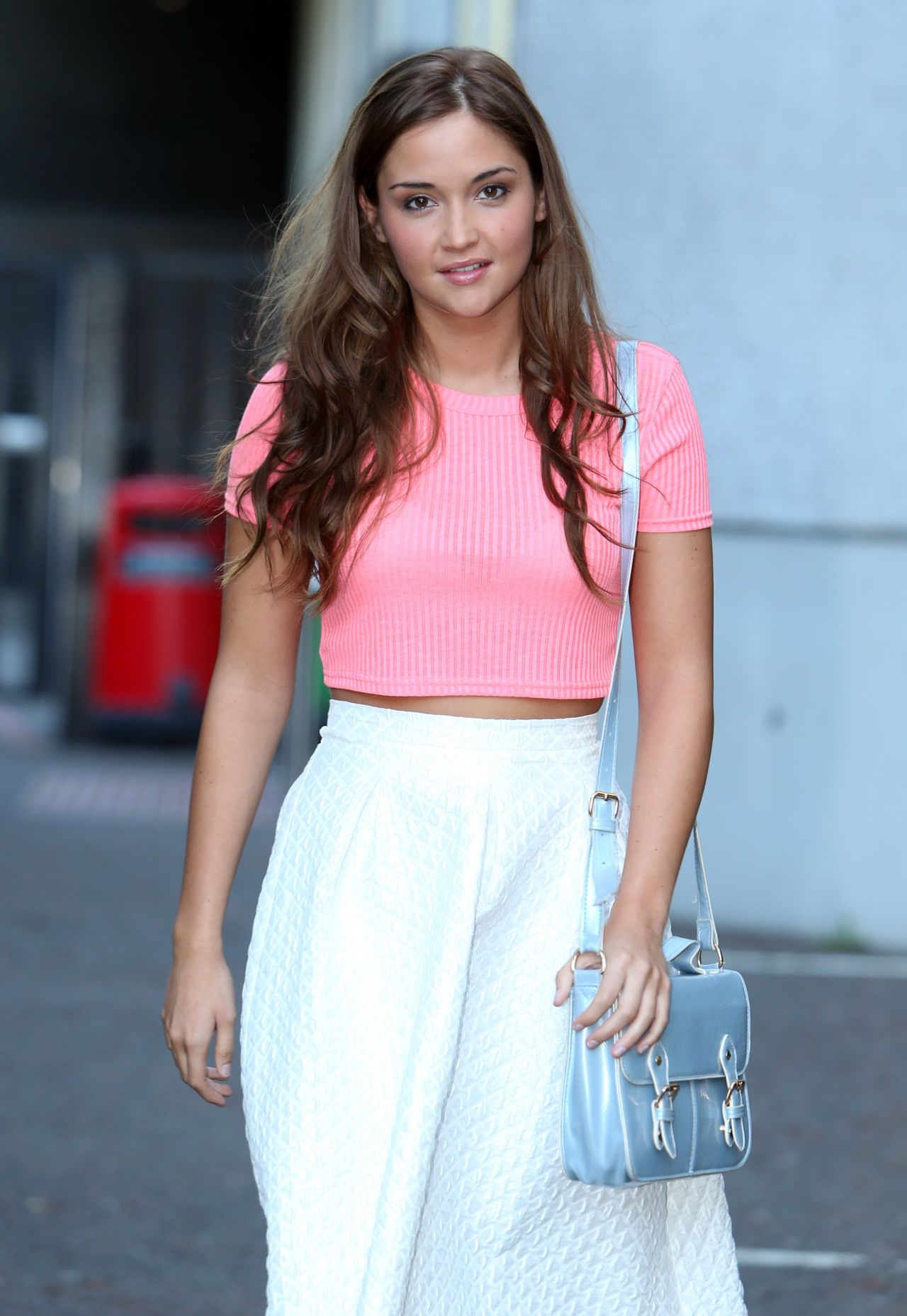 Jacqueline Jossa Itv Studios In London May 2014