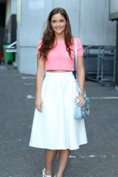 Jacqueline Jossa - ITV Studios in London - May 2014
