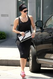 Jaimie Alexander at a Gym in West Hollywood - May 2014