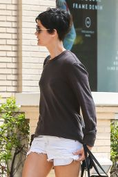 Jaimie Alexander Street Style - Out in Los Angeles - May 2014
