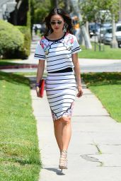 Jamie Chung Casual Style – Out in Beverly Hills - May 2014