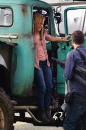 Jane Levy Filming