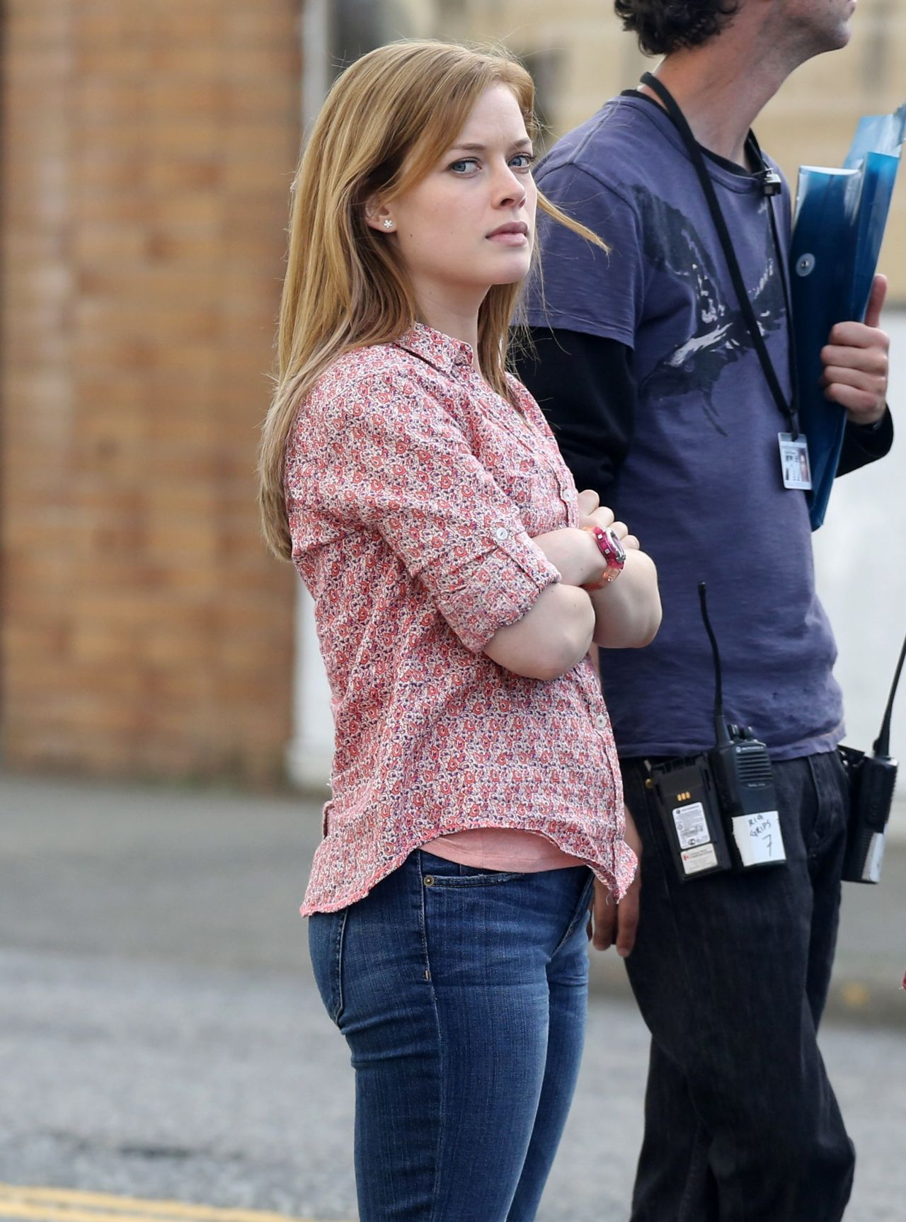 Jane Levy Filming Monster Trucks Movie In Chilliwack - May 2014-4647