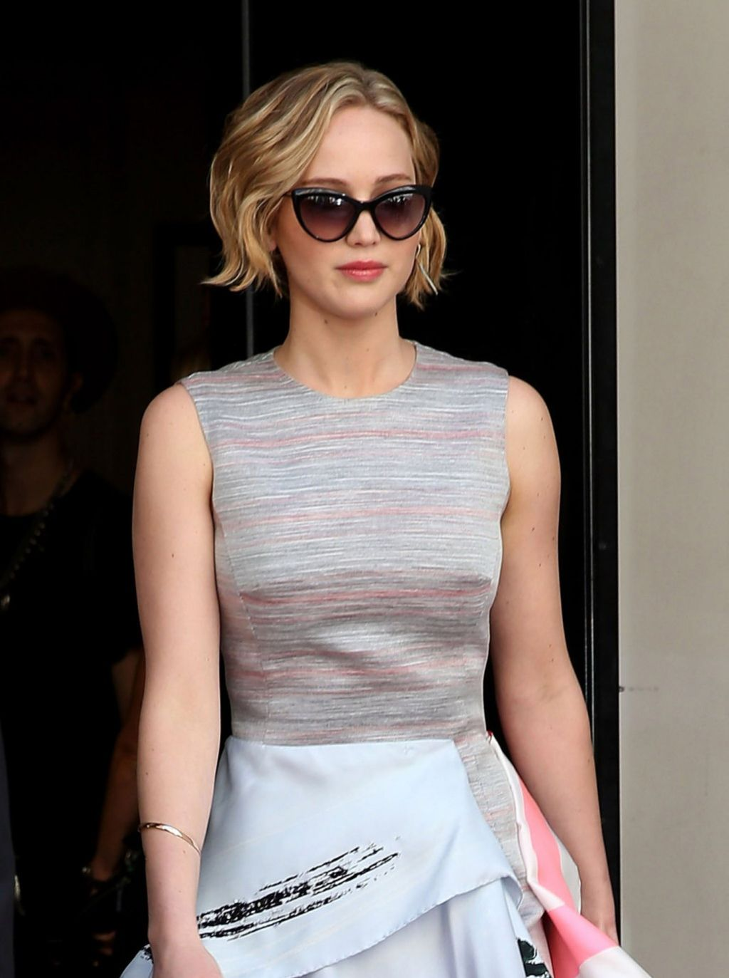 Jennifer Lawrence - Arriving at the Cannes Film Festival ...