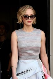 Jennifer Lawrence - Arriving at the Cannes Film Festival (2014)