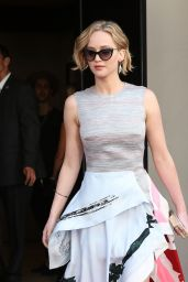 Jennifer Lawrence - Arriving at the Cannes Film Festival (2014)