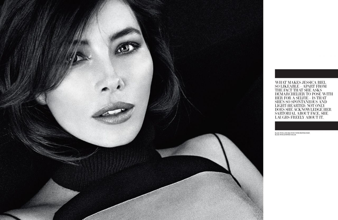 Jessia Biel - Dior Magazine June 2014 Issue