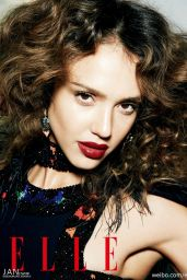 Jessica Alba – Elle Magazine (China) May 2014 Issue