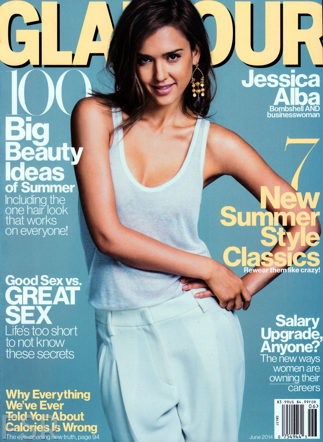 Jessica Alba – Glamour Magazine June 2014 Issue