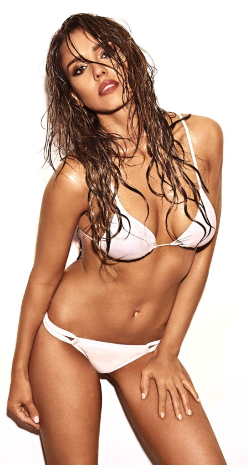 Jessica Alba in a Bikini – Entertainment Weekly Magazine May/June 2014 Issue