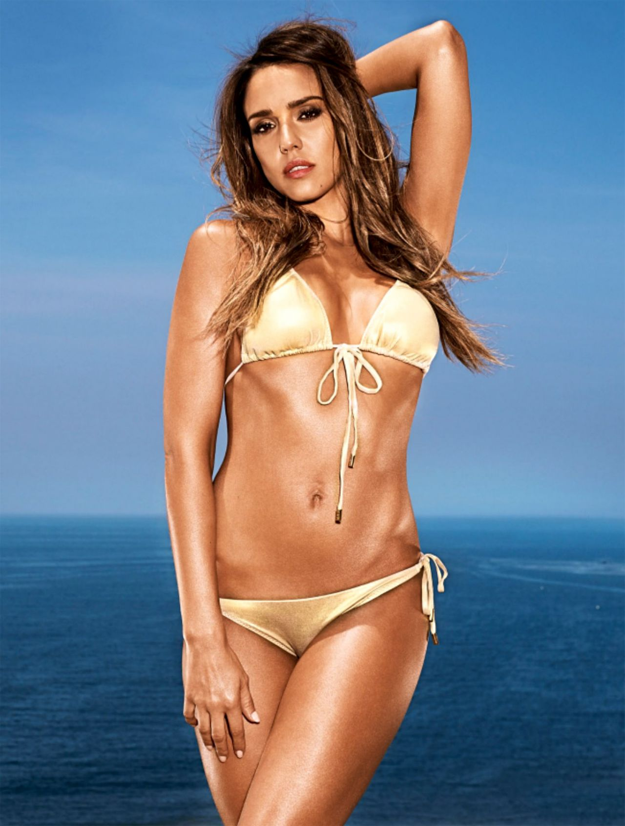 d2ca7cb42486d Jessica Alba in a Bikini – Entertainment Weekly Magazine May June 2014 Issue