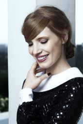 Jessica Chastain - Grazia Magazine March, 2014 Issue