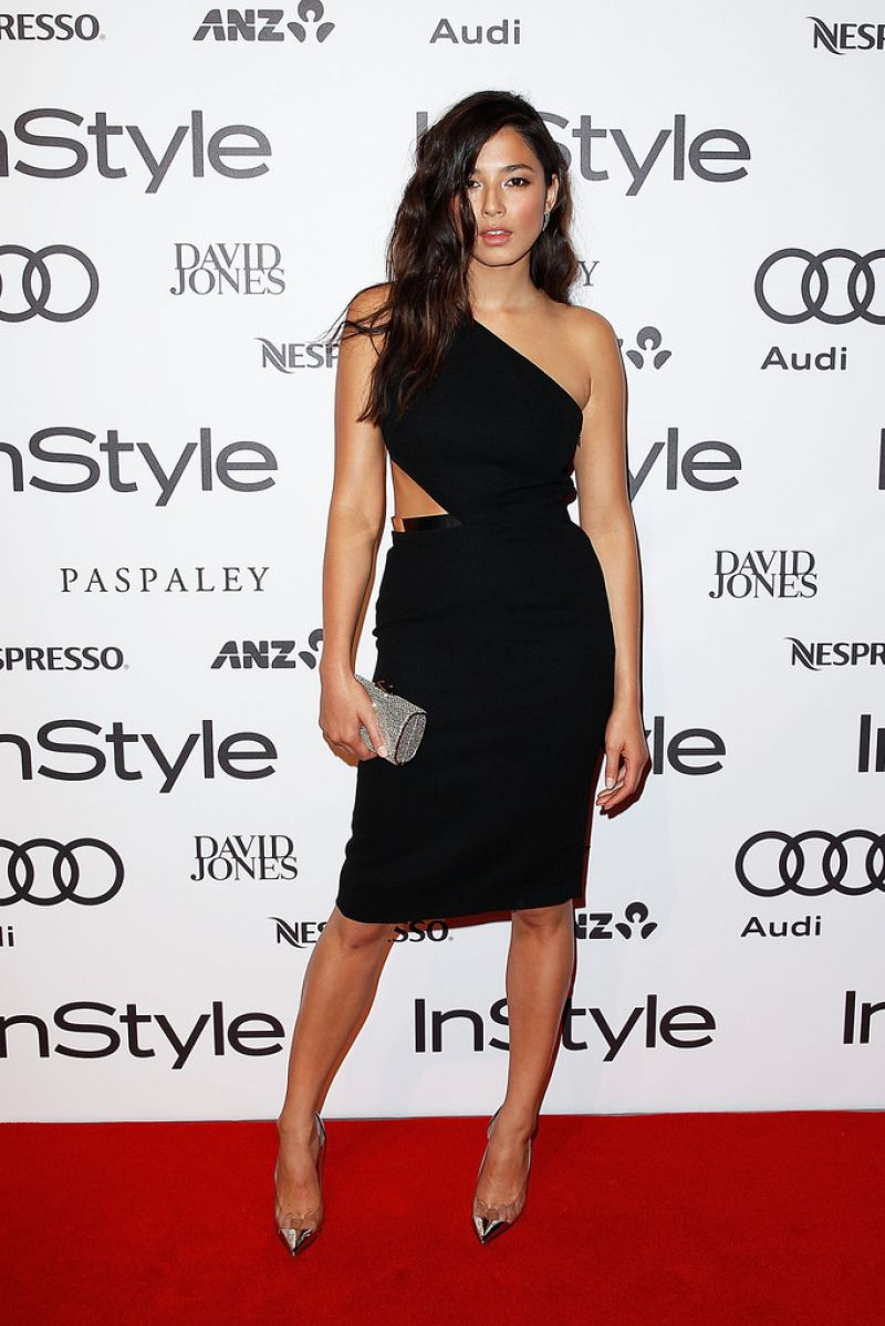 Jessica Gomes - Instyle Magazine and Audi