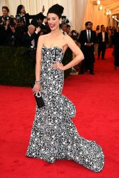 Jessica Pare Wearing Michael Kors Gown – 2014 Met Costume Institute Gala