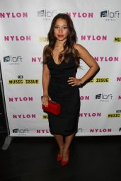 Jessica Parker Kennedy – Nylon Magazine Music Issue party in Los Angeles – May 2014
