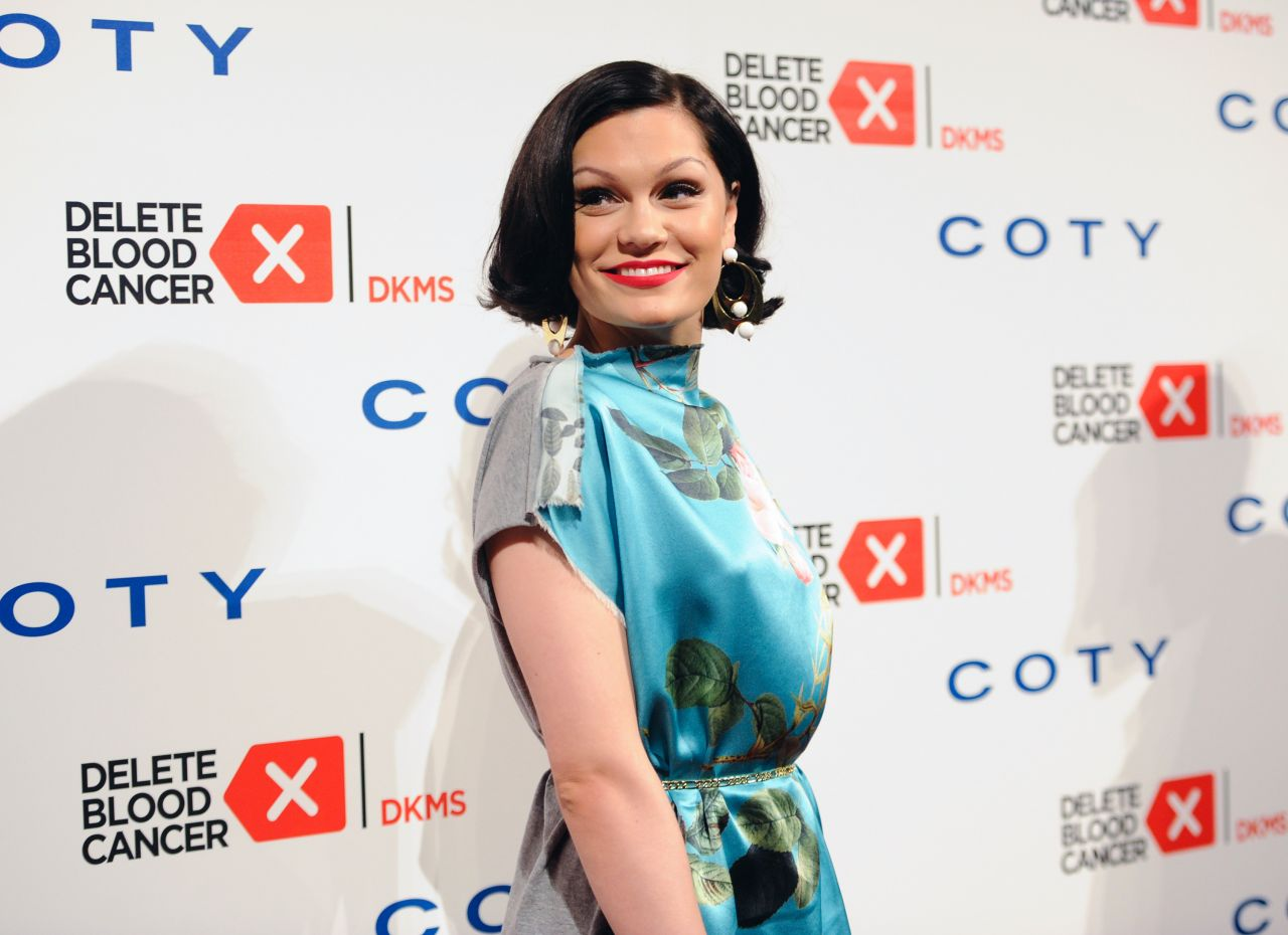 Jessie J on Red Carpet - Delete Blood Cancer Gala - May 2014