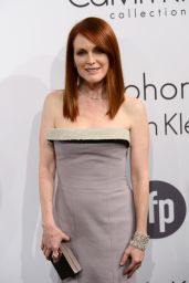 Julianne Moore Wearing Calvin Klein Collection - Calvin Klein Party - 67th Cannes FF in France