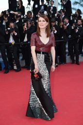 Julianne Moore Wearing Louis Vuitton – 'Mr. Turner' Premiere at 2014 Cannes Film Festival